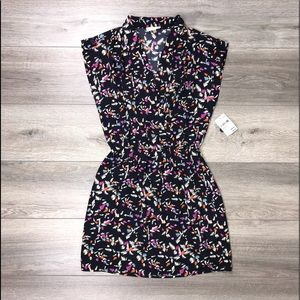 Collective Concepts Sleeveless Dress Pink Navy